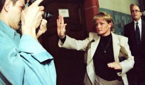 Christiane Sommer-Knacke tijdens het proces