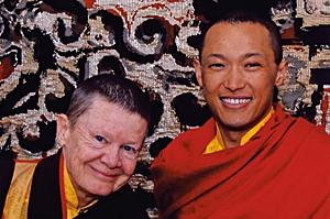 Pema Chödrön met Sakyong Mipham