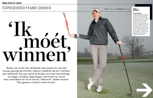 femke dekker golf
