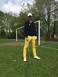 Oud-voetballer Kenneth Perez golft nu: 'Die slag, dat ben jij'
