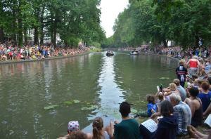 Ploegenpresentatie Tour in Utrecht.  Foto Jeroen Wielaert