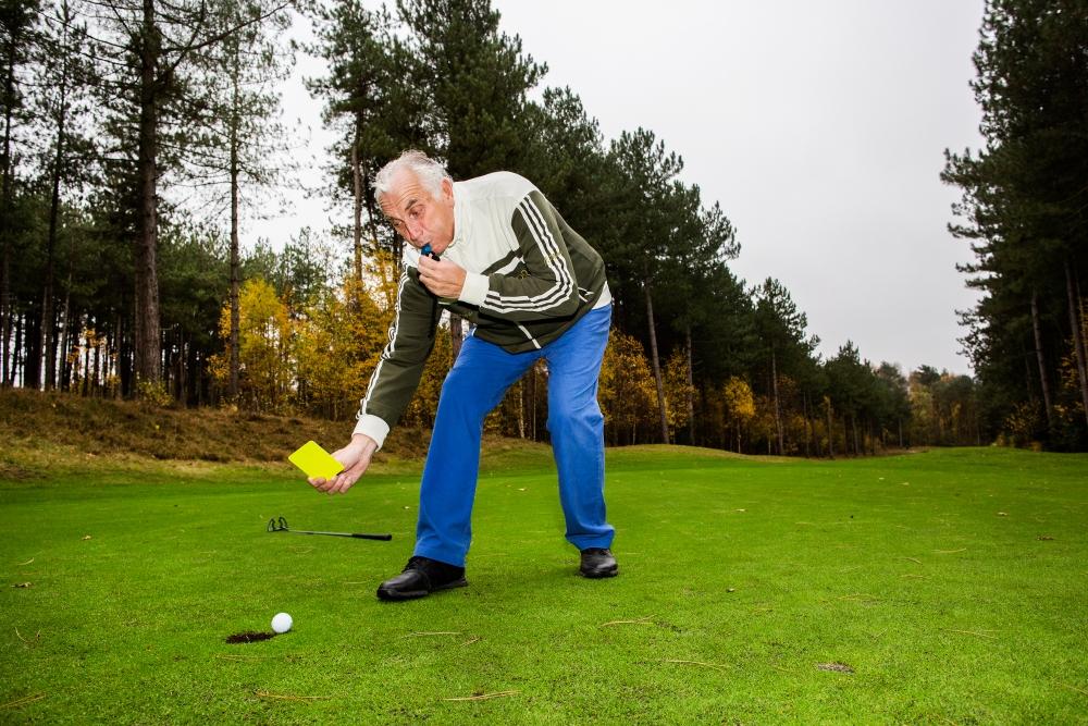 Golfer Mario van der Ende heeft niets met handicaps